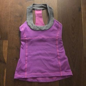 Lululemon purple yoga top
